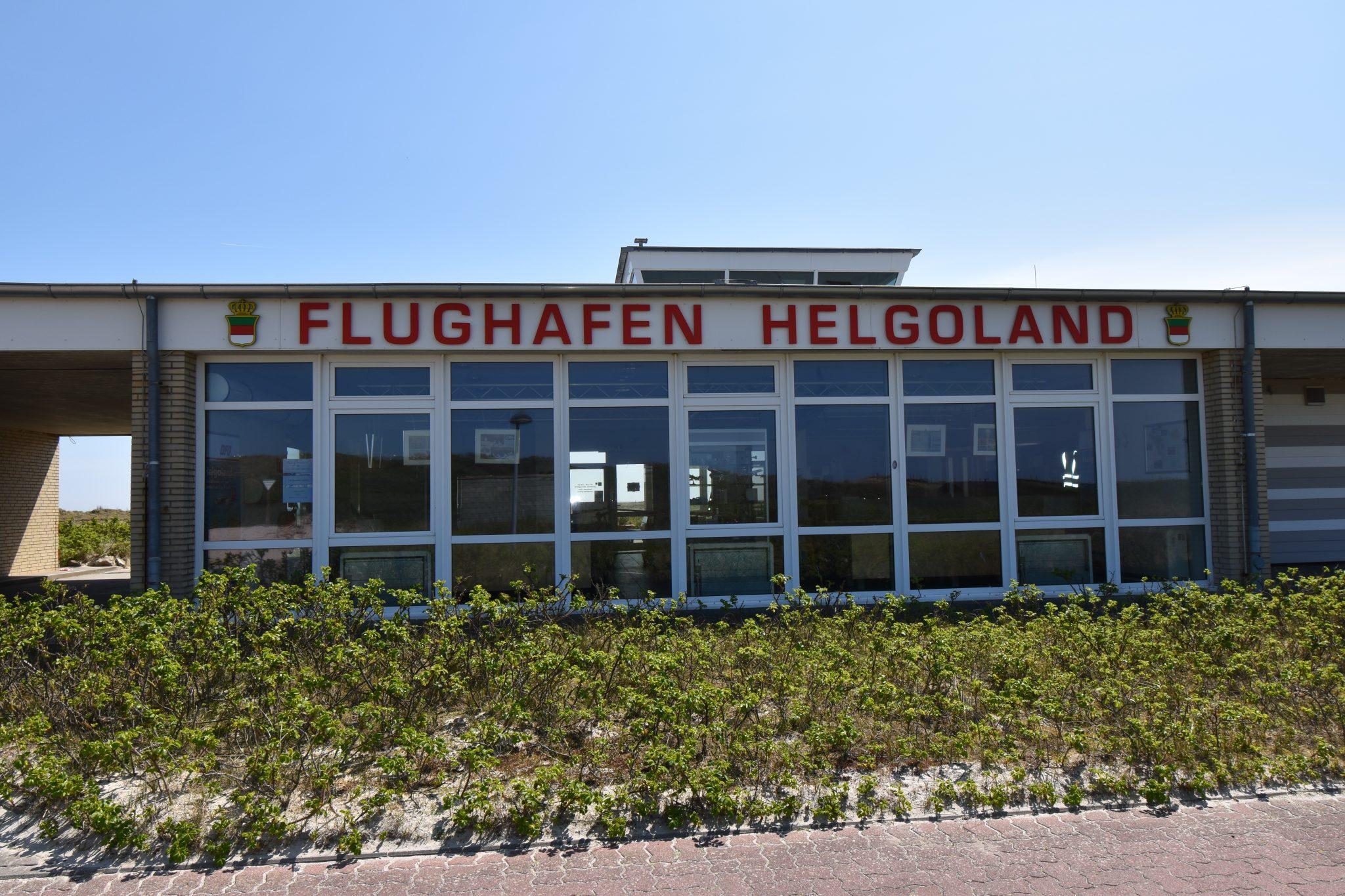 Flugplatz Helgoland-Düne