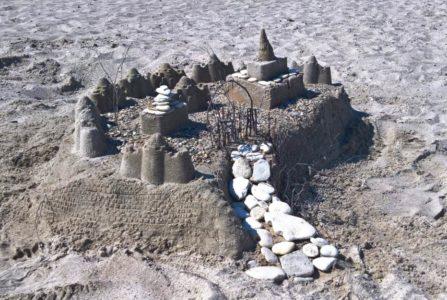 Sandburgenbau-Wettbewerb