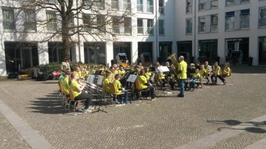 Konzert des Jugendblasorchesters der Sta ...