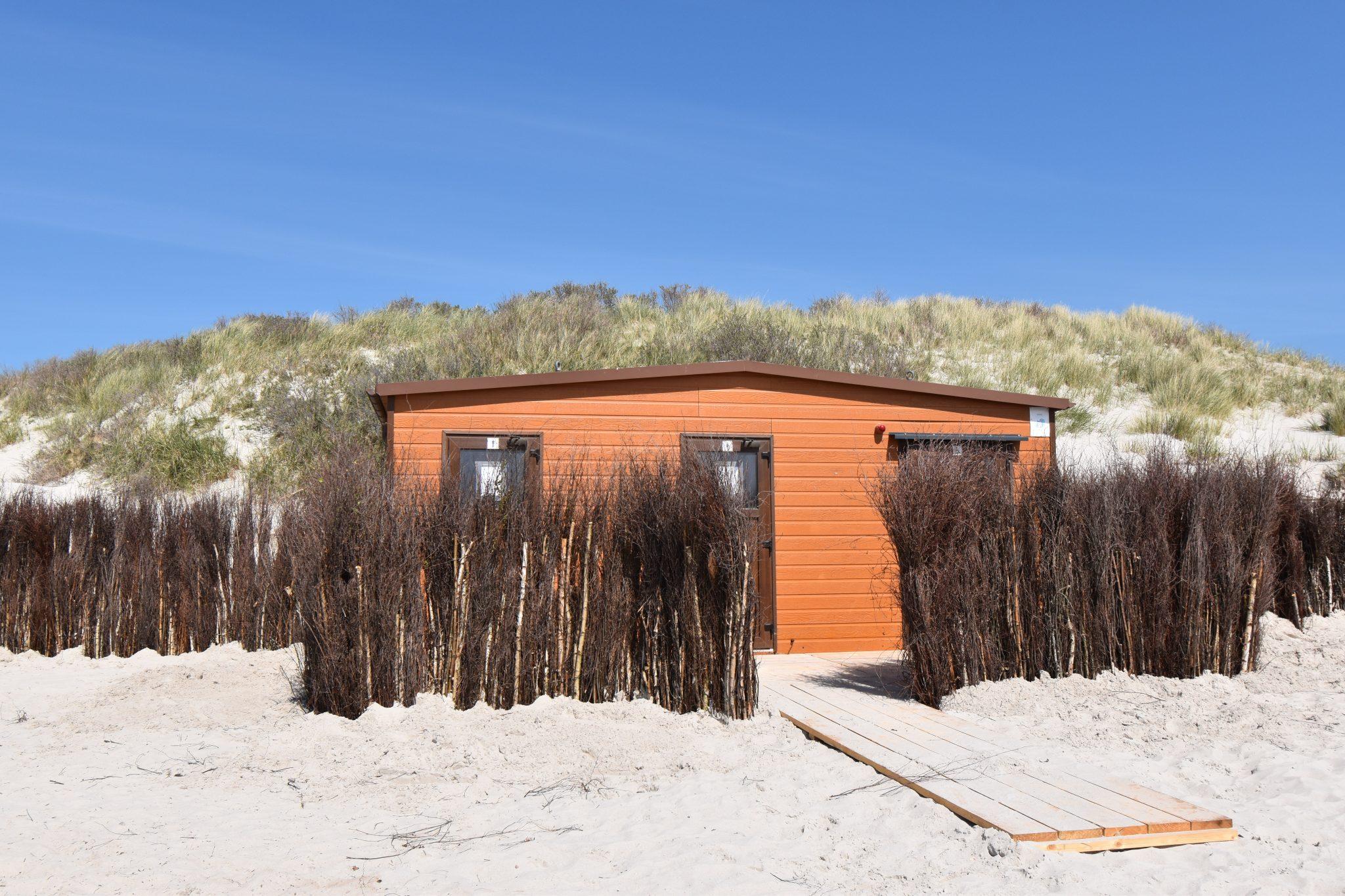 WC – Südstrand