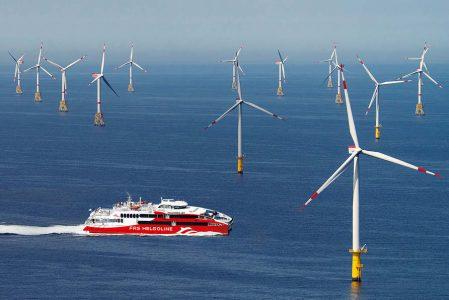 Ausflugsfahrt zum Offshore Windpark mit  ...