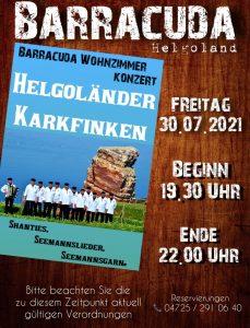 Barracuda Wohnzimmerkonzert-Helgoländer ...